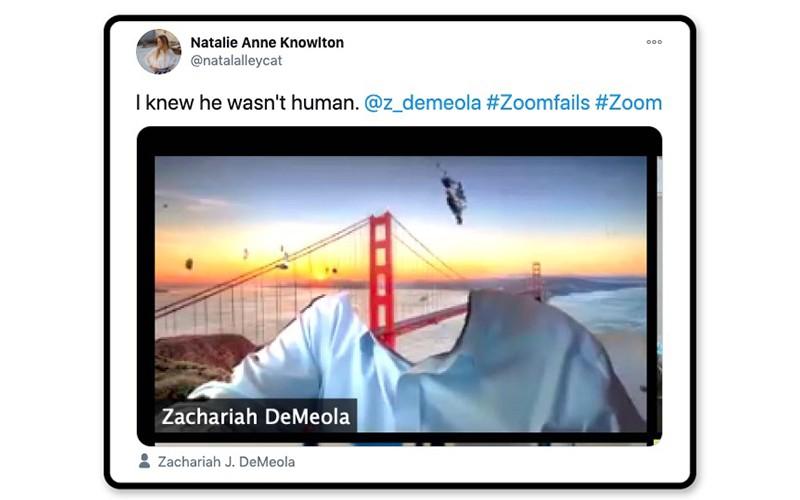 Zoom fail