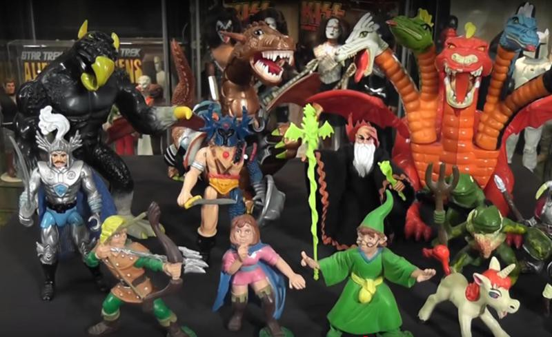 Dungeons and Dragons toys