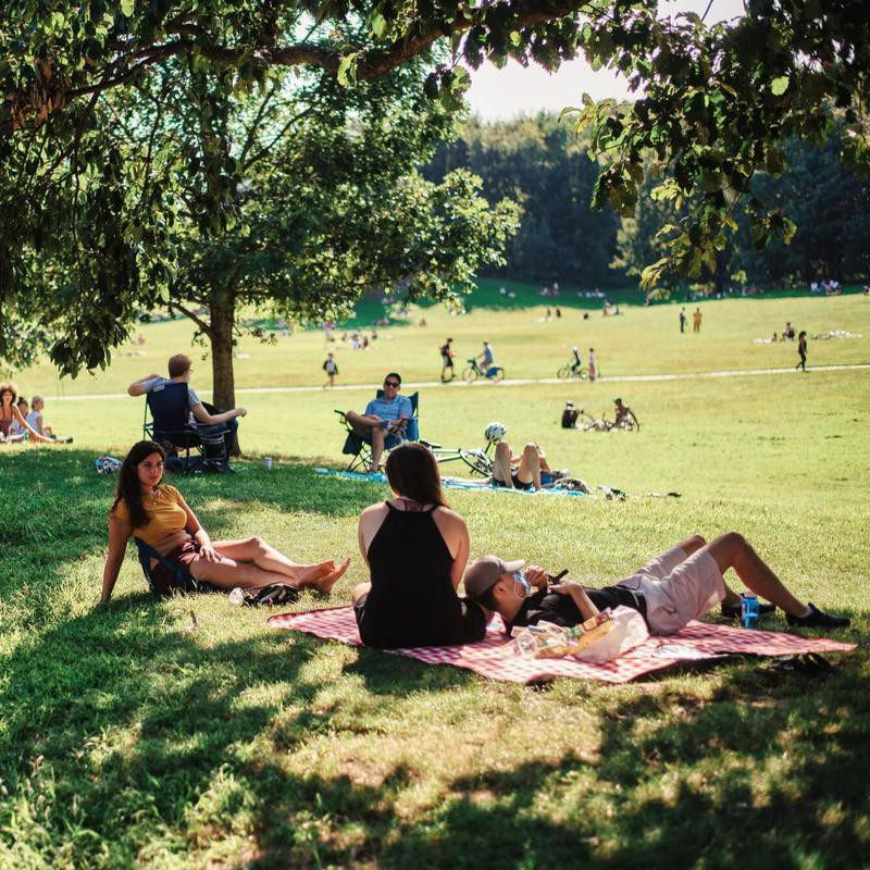 People at Prospect Park