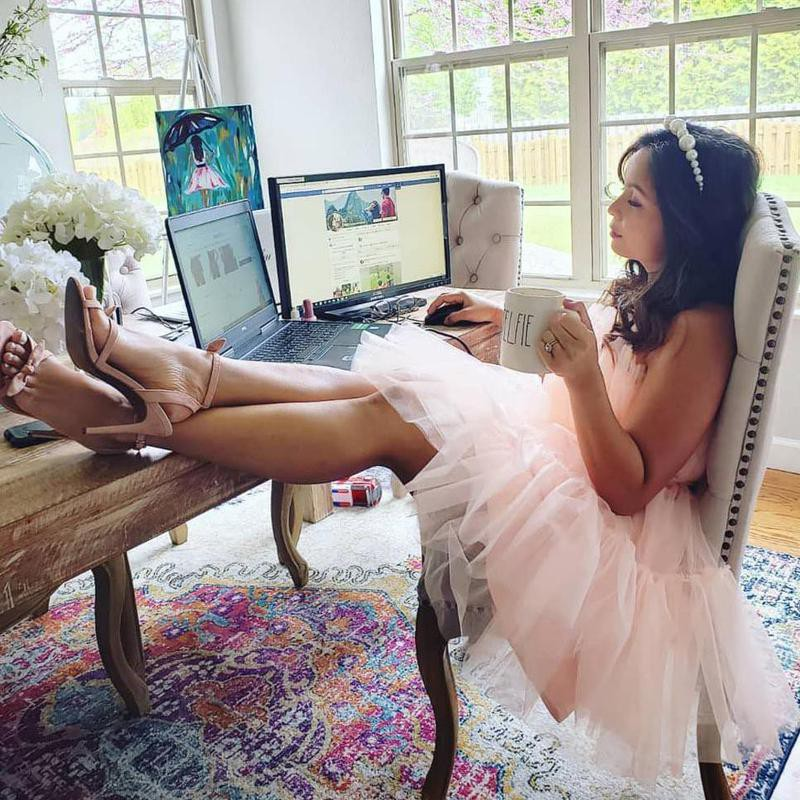 Work from home princess