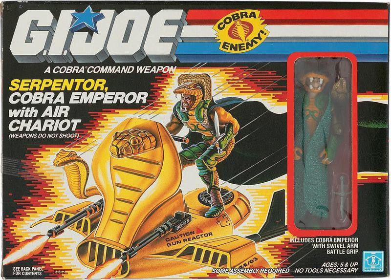Serpentor with Air Chariot