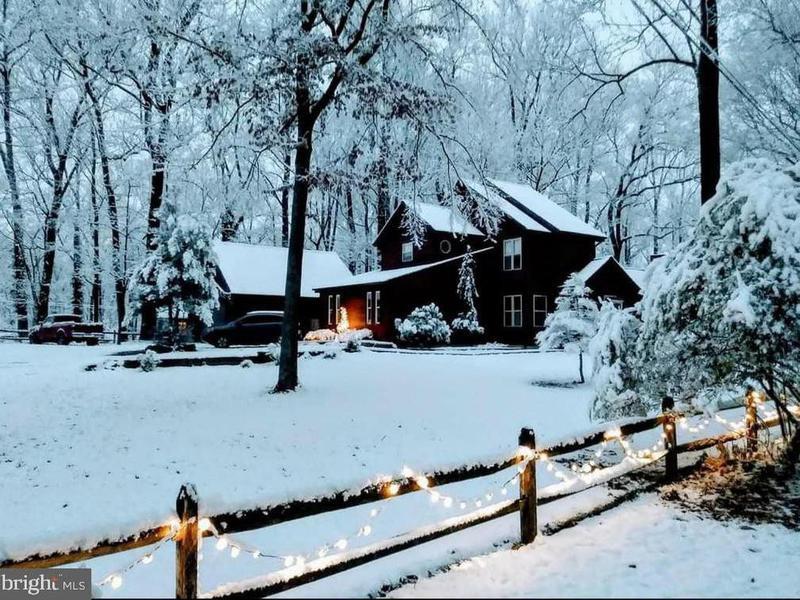 Cabin in Harpers Ferry, West Virginia