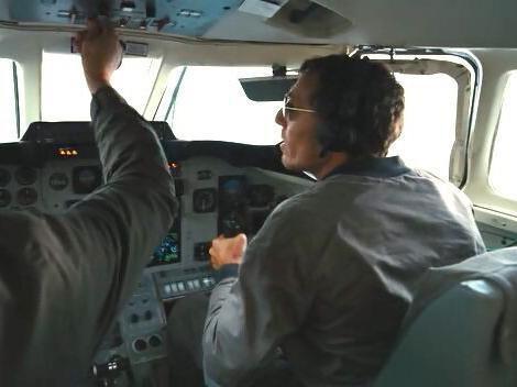 Bane's Plane Hijack