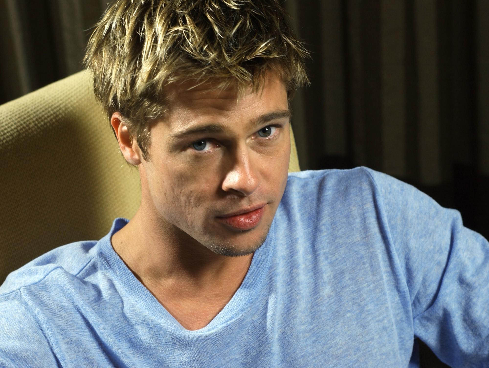 Brad Pitt in 2001