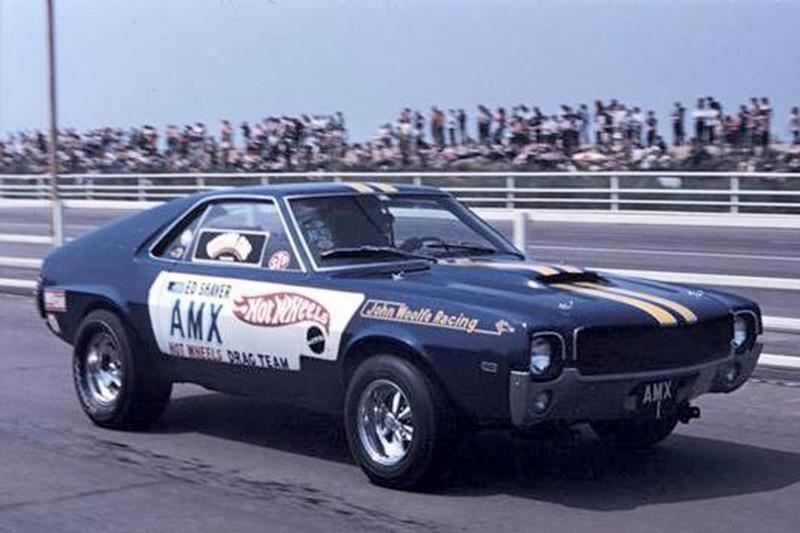 Ed Shaver AMX Race Car