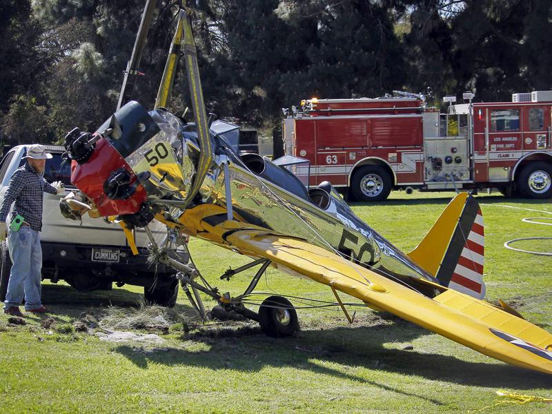 Harrison Ford crash landing