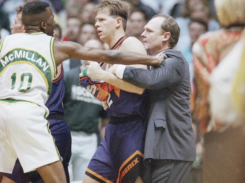 Phoenix Suns guard Danny Ainge