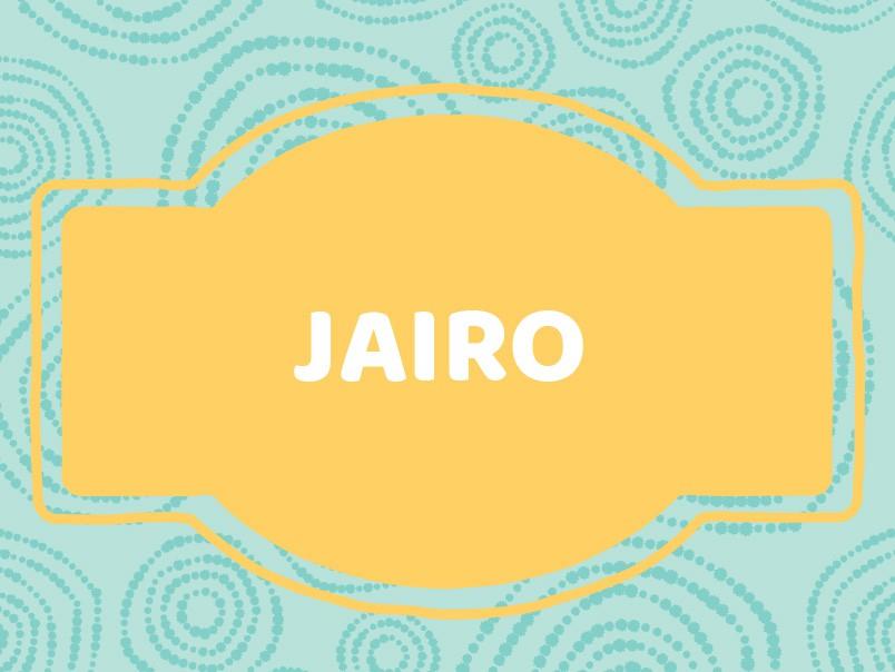 J Baby Names: Jairo