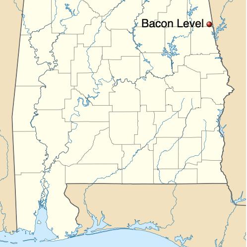 Town of Bacon Level, Alabama