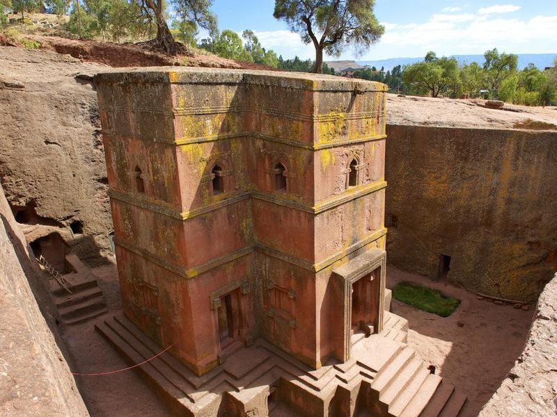 Church of St. George, Lalibela, Ethiopia.