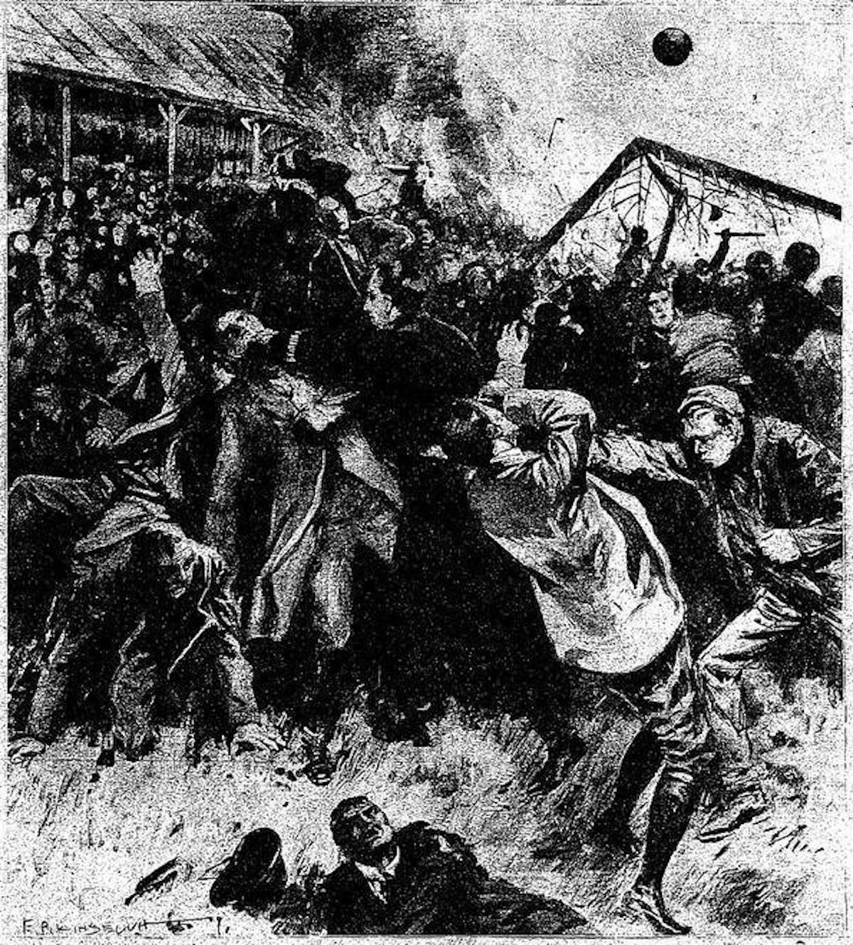 Scottish Cup riot
