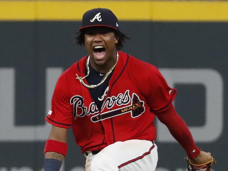 Atlanta Braves center fielder Ronald Acuna Jr.