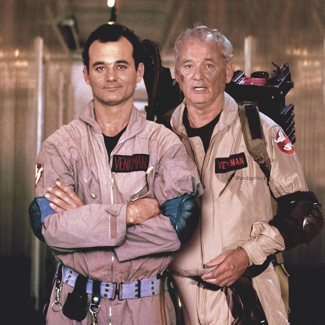 Bill Murray and Peter Venkman
