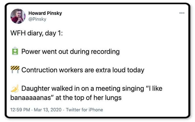 WFH diary