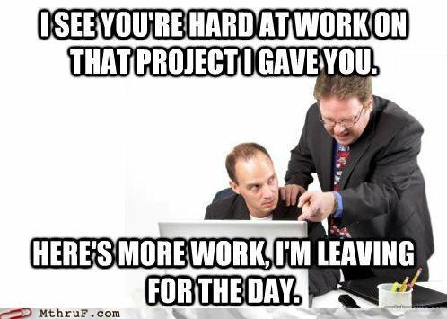 More work meme