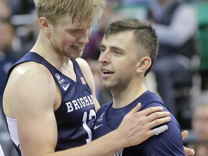 Eric Mika and Nick Emery