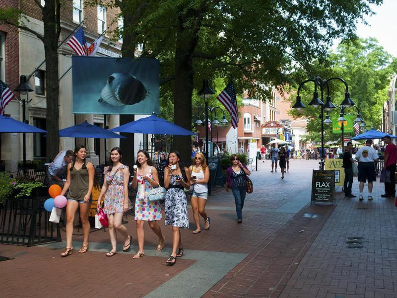 Downtown Charlottesville, Virginia