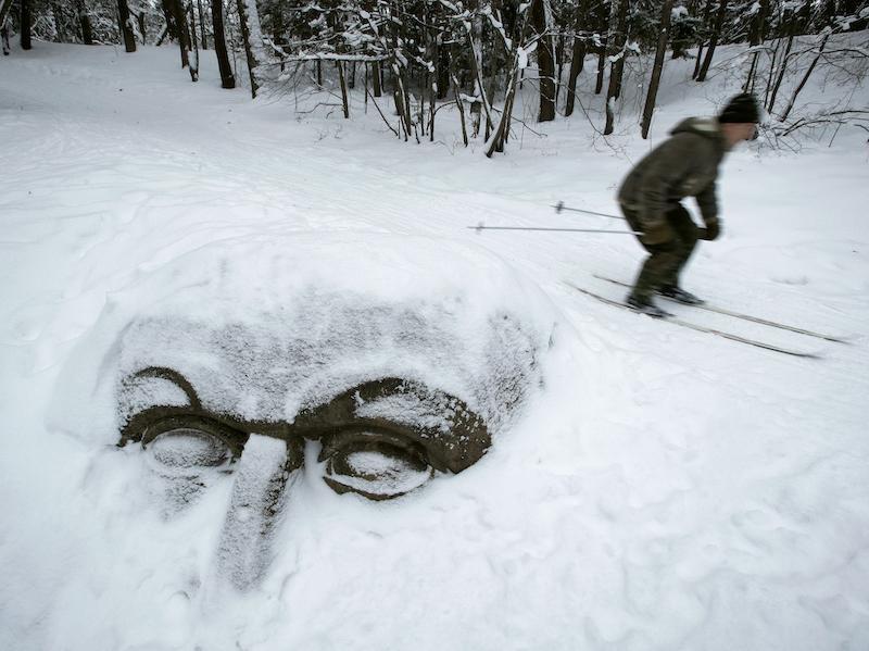 snowy Russia