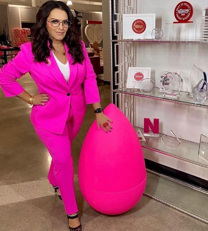 CEO of Beauty Blender Rea Ann Silva poses