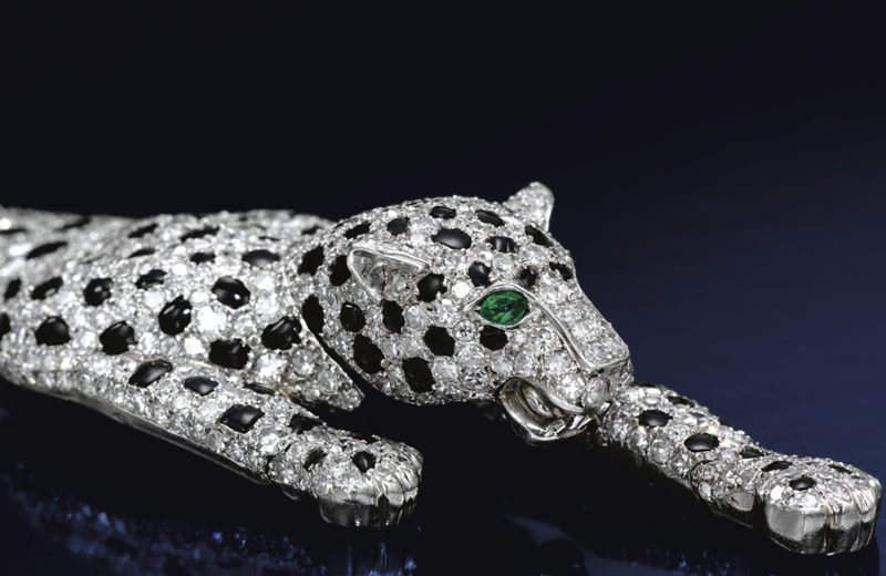 This panther bracelet was originally created by Cartier in the 1950s for the Duchess of Windsor.