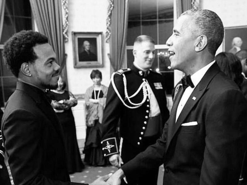 chance the rapper barack obama