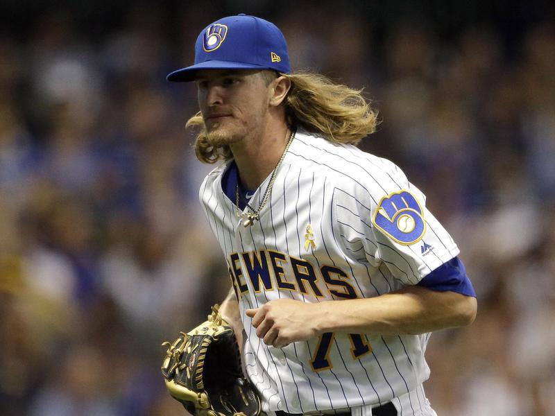 Milwaukee Brewers closer Josh Hader