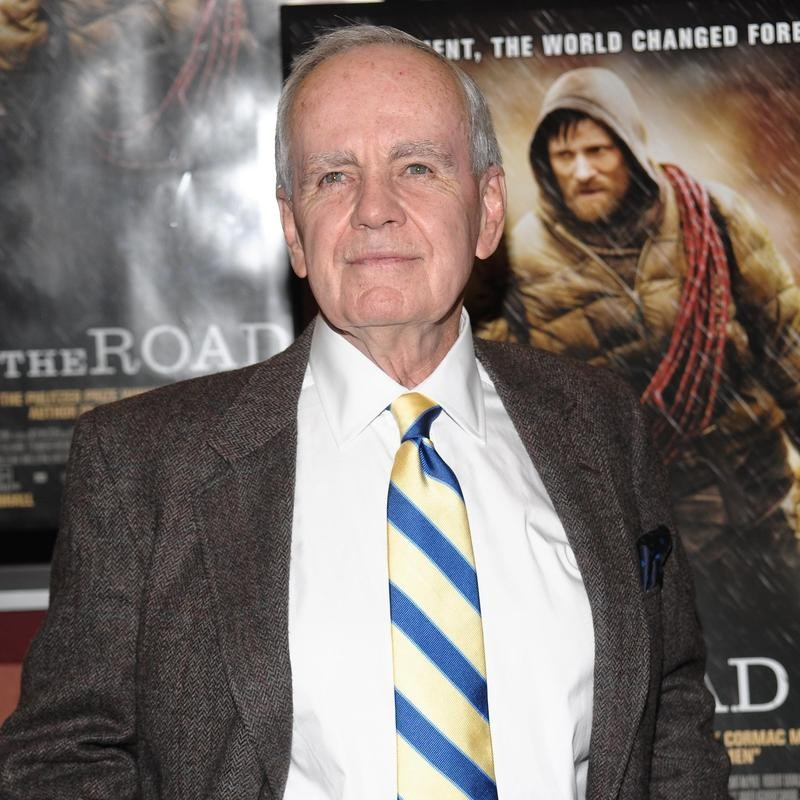 "Cormac McCarthy attends premiere of ""The Road"""
