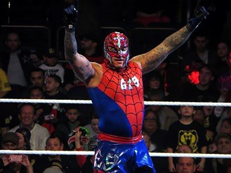 Rey Mysterio — Spiderman