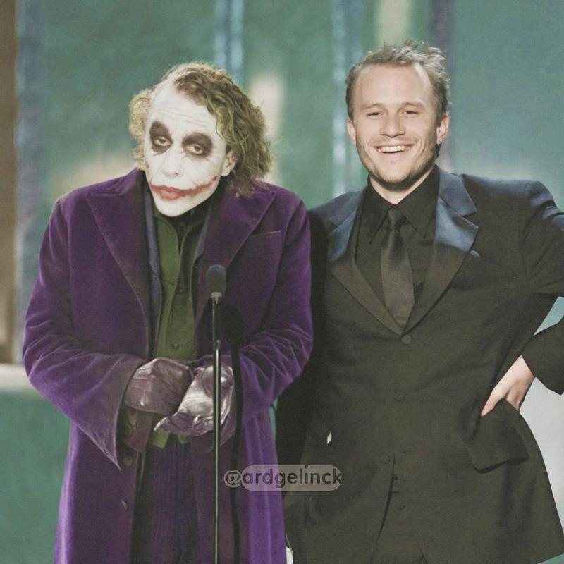 Heath Ledger and the Joker