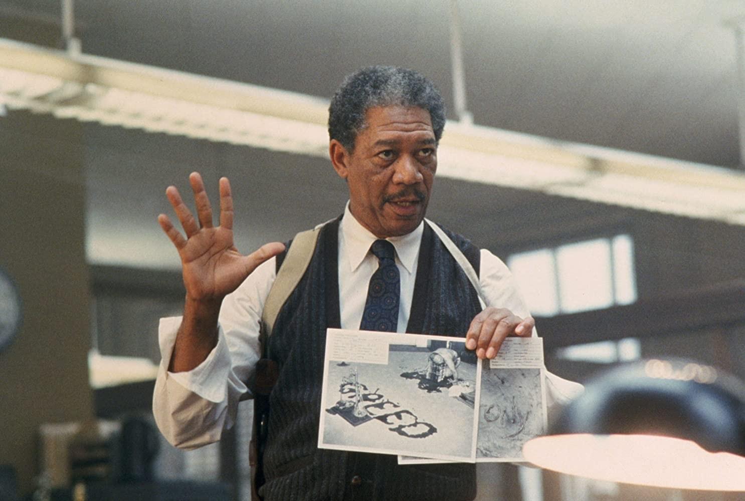 """Morgan Freeman in """"Se7en"""""""