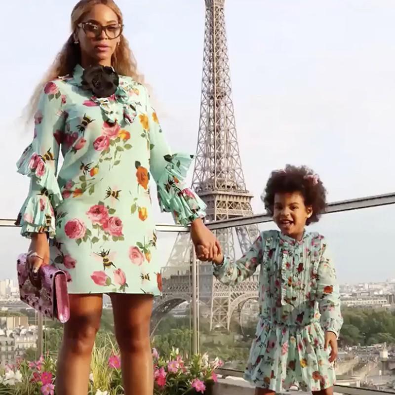 Beyoncé and Daughter Blue Ivy