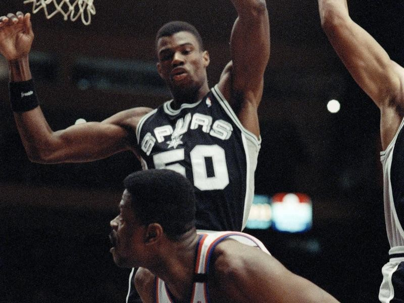 San Antonio Spurs center David Robinson
