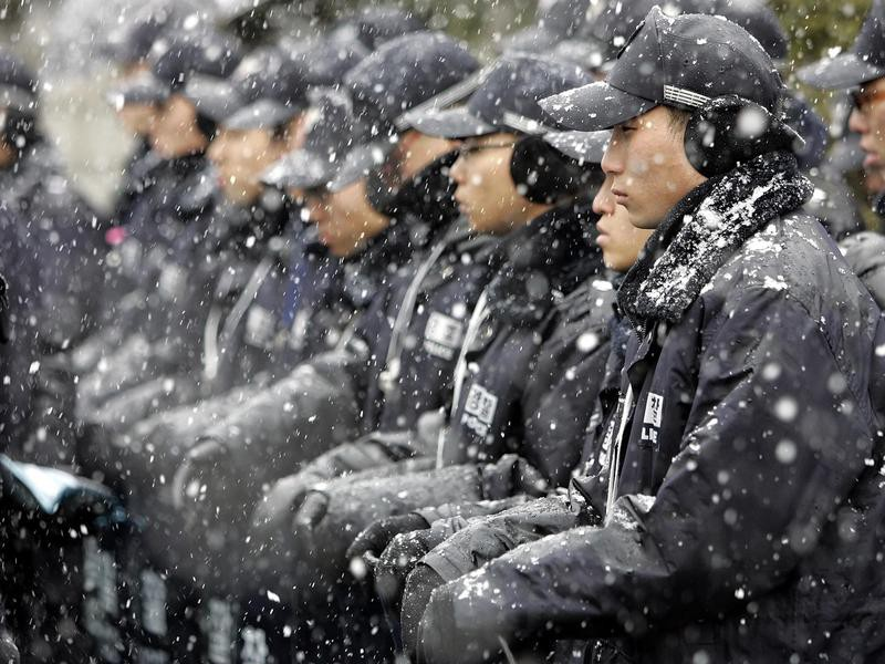 Policing in South Korea