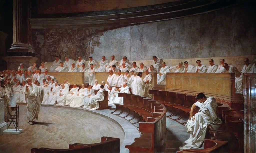 'Cicero Denounces Catiline'
