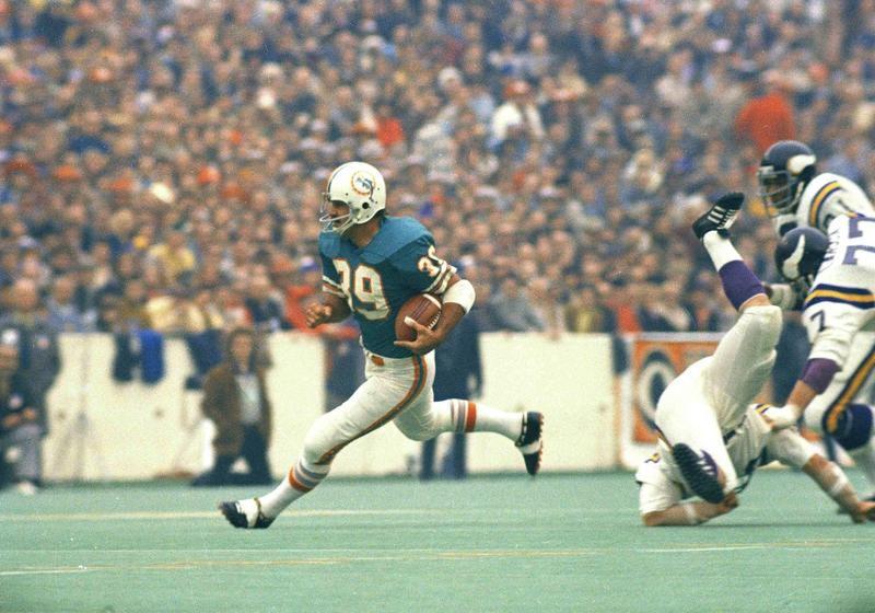Larry Csonka in Super Bowl VIII
