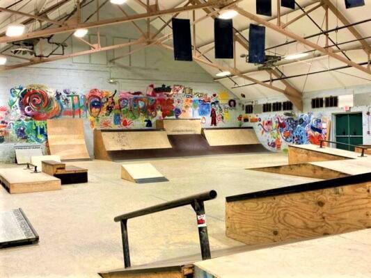 Bath Skate Park and Teen Center in Bath, Maine