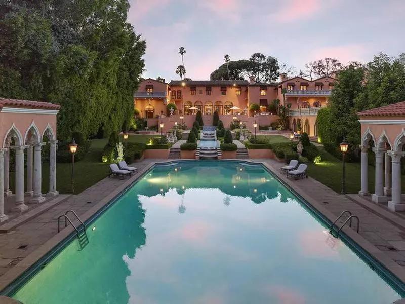 Hearst Estate in Beverly Hills