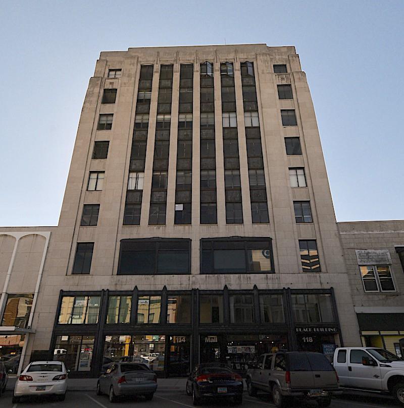 black building north dakota