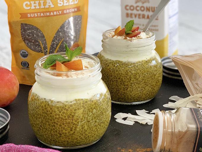 Golden Milk Coconut Chia Pudding