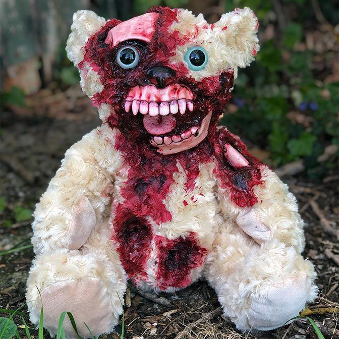 Zombie Teddy Bear