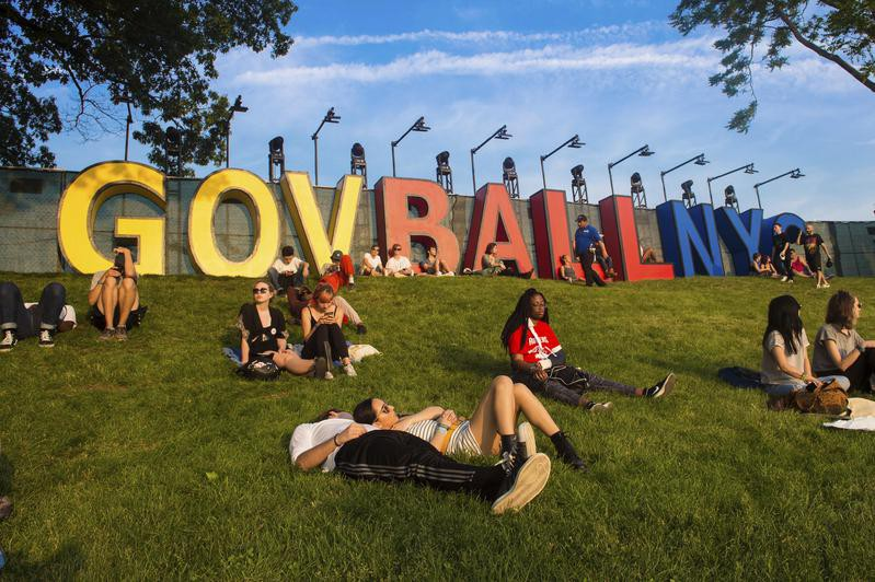 Atmosphere at The Governors Ball Music Festival