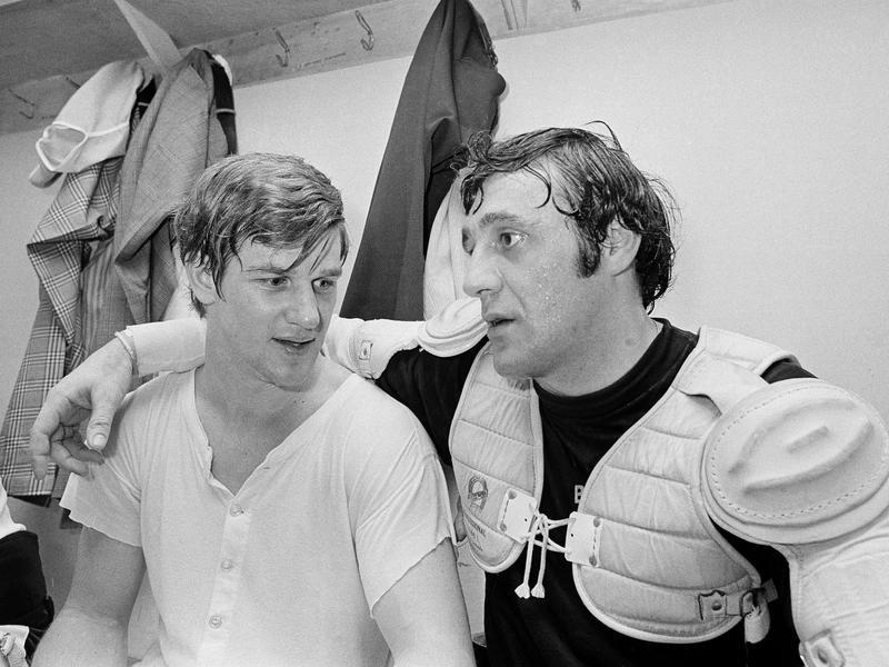 Bobby Orr and Phil Esposito