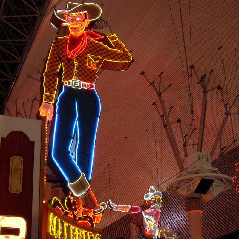 Vegas Vic sign