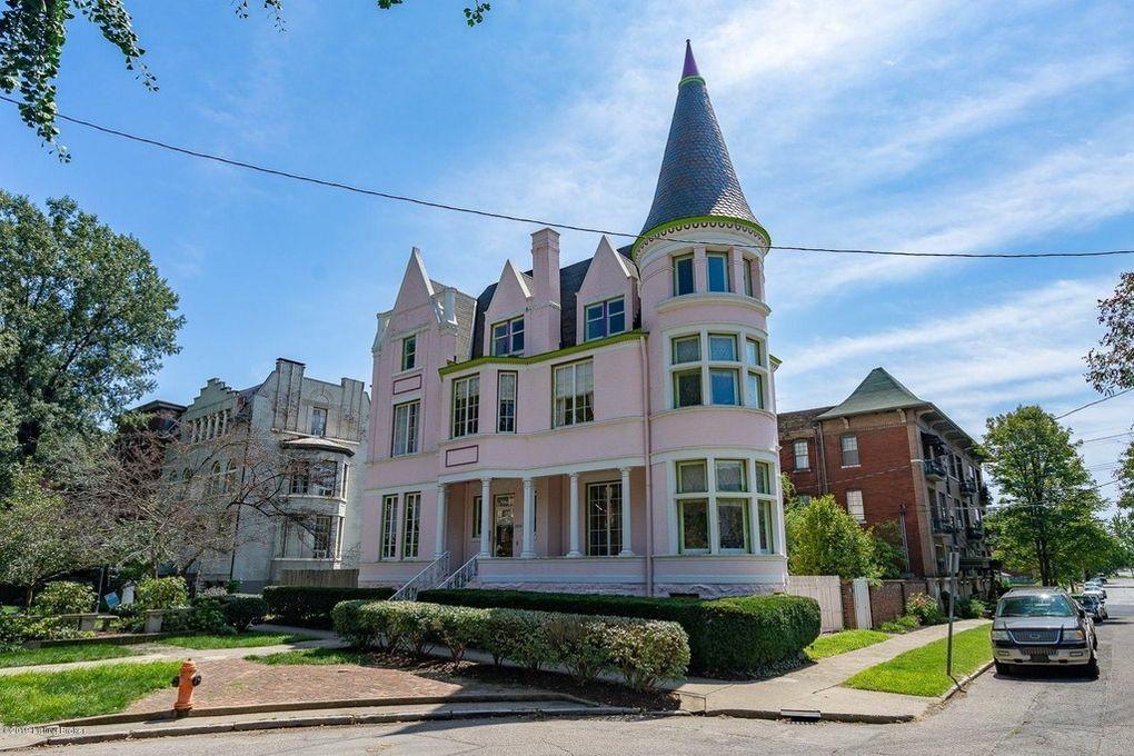Pink Palace in Louisville, Kentucky