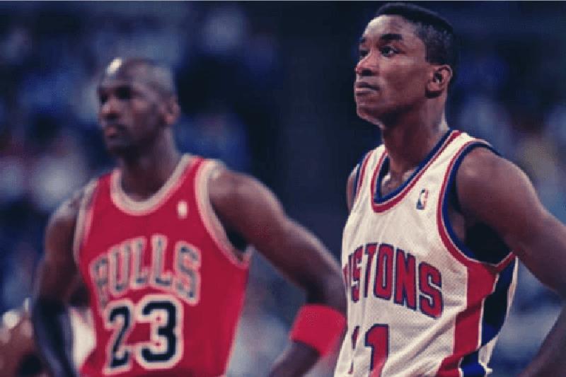 Michael Jordan, Isiah Thomas