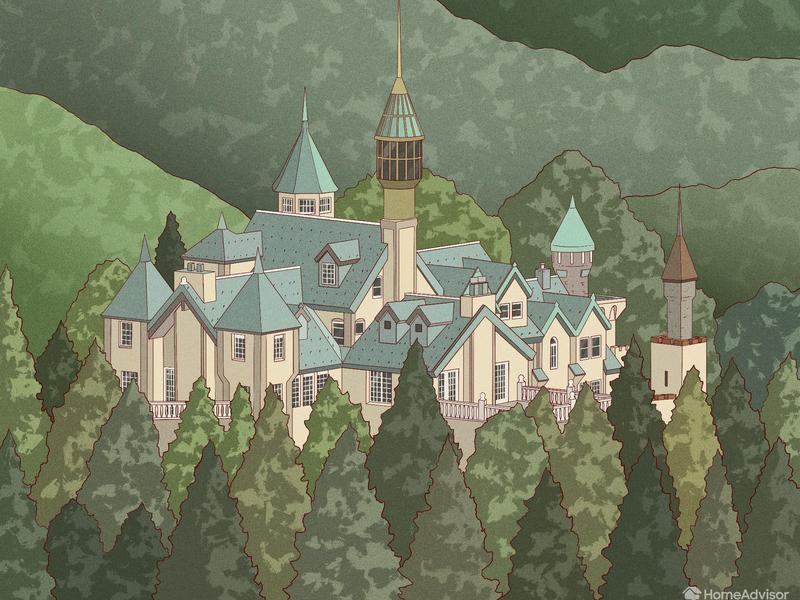 Illustration of Star Valley Castle