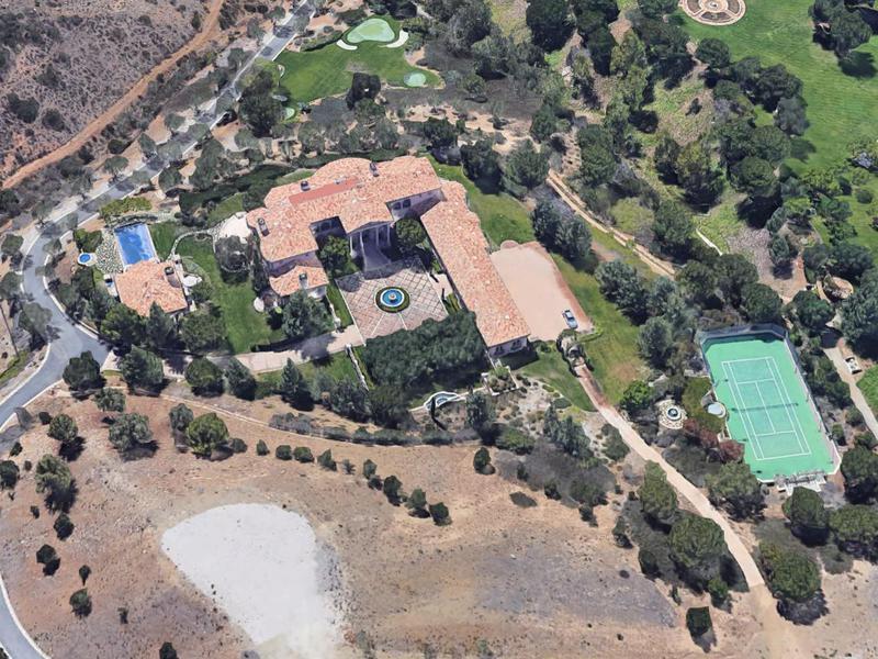 Britney Spear's mansion in California