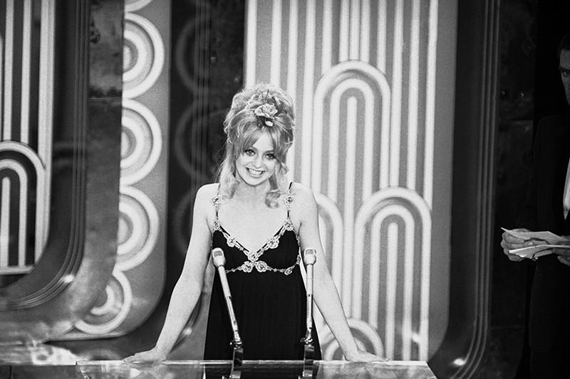 Goldie Hawn hosting