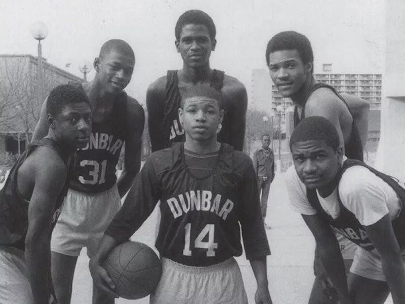 1982-83 Dunbar team
