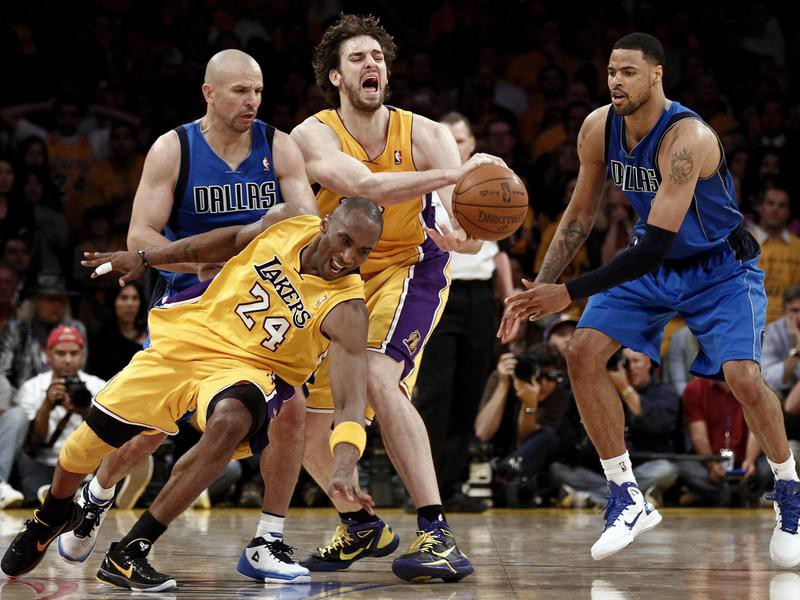 Kobe Bryant and Pau Gasol